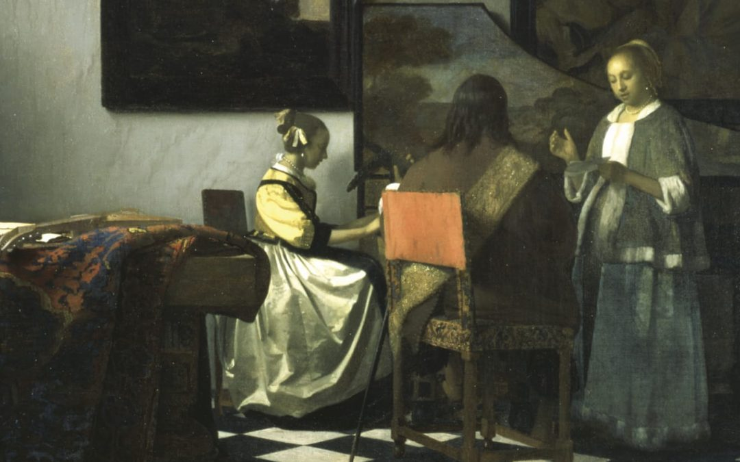 The Vermeer stolen in Boston