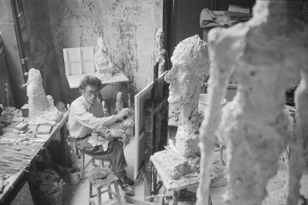 Alberto Giacometti at the Guggenheim in New York