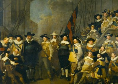 Jacob Backer - Company of Cornelis de Graeff and luitenant Hendrick Lauwrensz (1642)