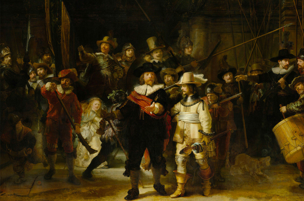 The Night Watch by Rembrandt (Pt 1)