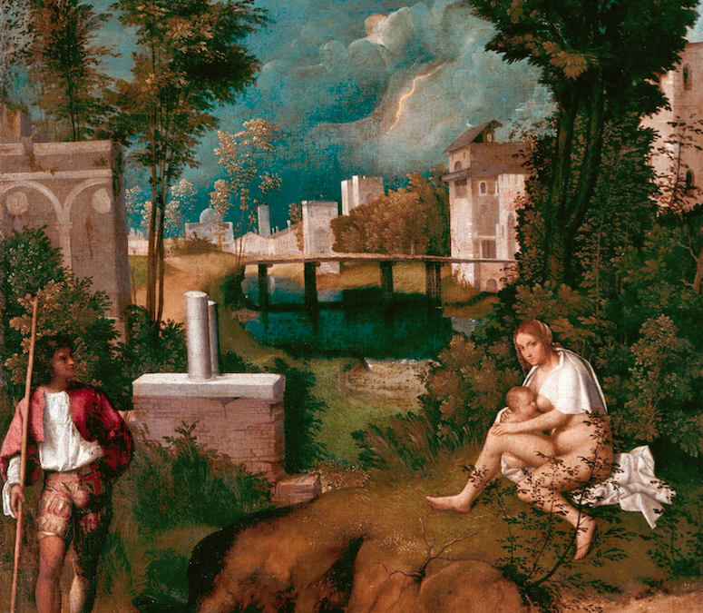 The Tempest of Giorgione of Castelfranco p.2