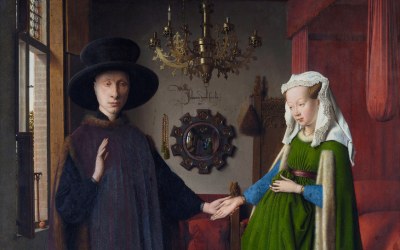 Jan van Eyck The Arnolfini Portrait, 1434 (Pt 1)