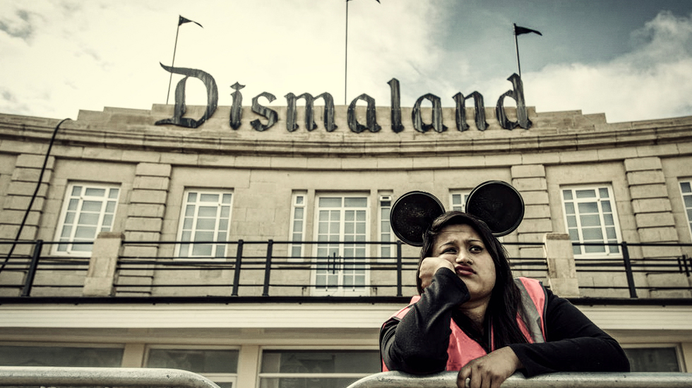 Dismaland: the un-amusement park