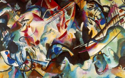 Composition VI (The Flood), by Wassily Kandinsky