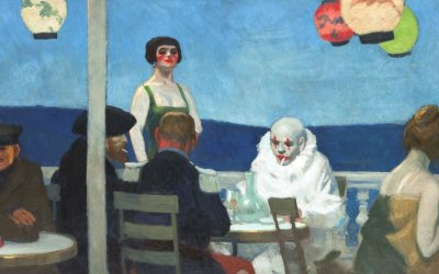 Edward Hopper had foreseen everything:  we live perpetually connected on social networks yet in complete solitude